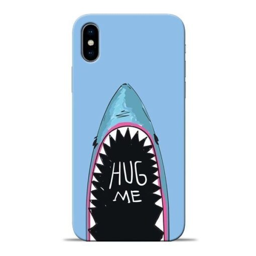 Hug Me Apple iPhone X Mobile Cover