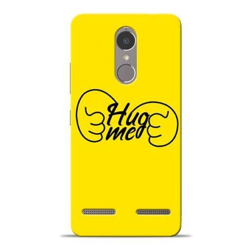 Hug Me Hand Lenovo K6 Power Mobile Cover