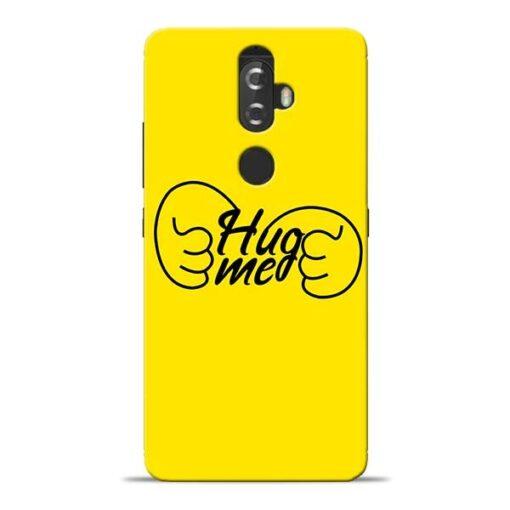 Hug Me Hand Lenovo K8 Plus Mobile Cover