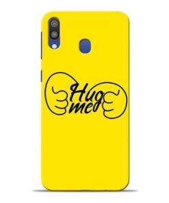 Hug Me Hand Samsung M20 Mobile Cover