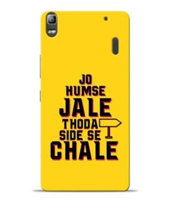 Humse Jale Side Se Lenovo K3 Note Mobile Cover