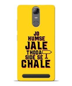 Humse Jale Side Se Lenovo K5 Note Mobile Cover