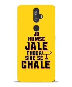 Humse Jale Side Se Lenovo K8 Plus Mobile Cover