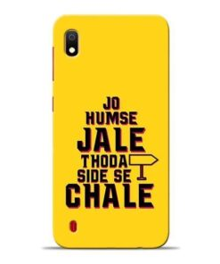 Humse Jale Side Se Samsung A10 Mobile Cover