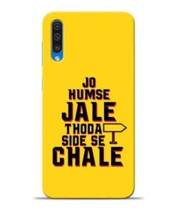 Humse Jale Side Se Samsung A50 Mobile Cover