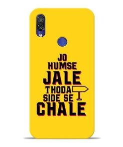 Humse Jale Side Se Xiaomi Redmi Note 7 Mobile Cover