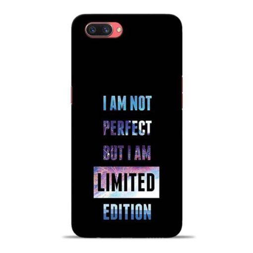 I Am Not Perfect Oppo A3s Mobile Cover