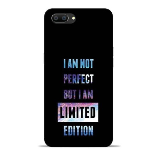 I Am Not Perfect Oppo Realme C1 Mobile Cover