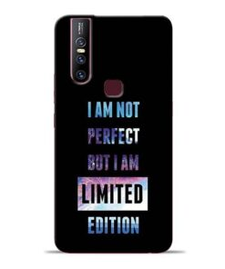 I Am Not Perfect Vivo V15 Mobile Cover