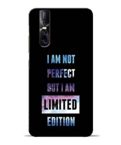 I Am Not Perfect Vivo V15 Pro Mobile Cover
