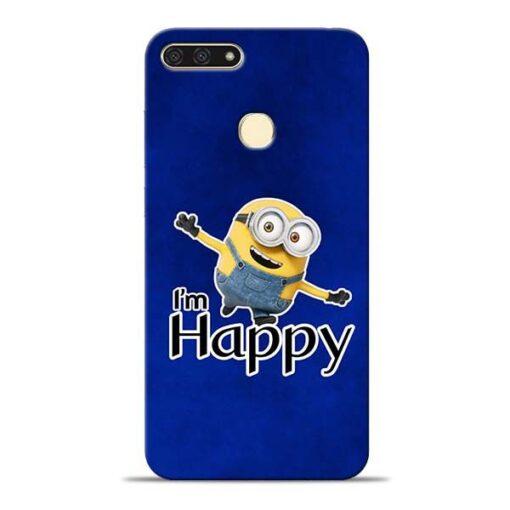 I am Happy Minion Honor 7A Mobile Cover
