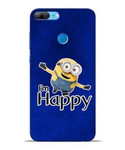 I am Happy Minion Honor 9 Lite Mobile Cover