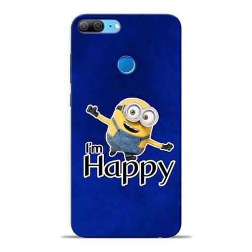 I am Happy Minion Honor 9 Lite Mobile Cover