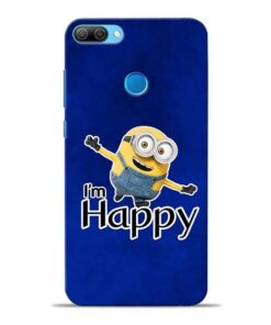I am Happy Minion Honor 9N Mobile Cover