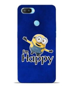 I am Happy Minion Oppo Realme 2 Pro Mobile Cover