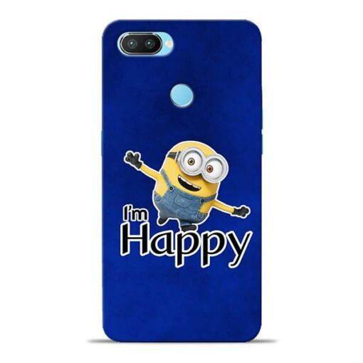 I am Happy Minion Oppo Realme 2 Pro Mobile Cover