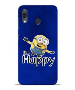 I am Happy Minion Samsung A30 Mobile Cover