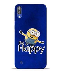 I am Happy Minion Samsung M10 Mobile Cover