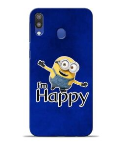 I am Happy Minion Samsung M20 Mobile Cover