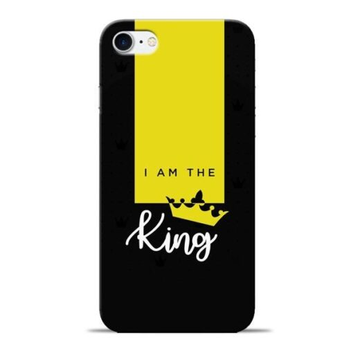 I am King Apple iPhone 8 Mobile Cover