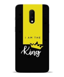 I am King Oneplus 7 Mobile Cover