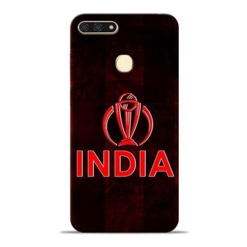 India Worldcup Honor 7A Mobile Cover