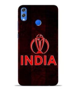 India Worldcup Honor 8X Mobile Cover