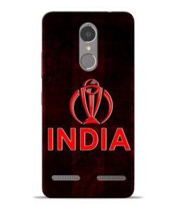India Worldcup Lenovo K6 Power Mobile Cover