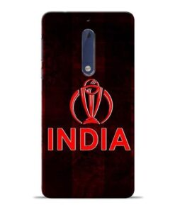 India Worldcup Nokia 5 Mobile Cover