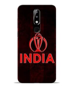 India Worldcup Nokia 5.1 Plus Mobile Cover