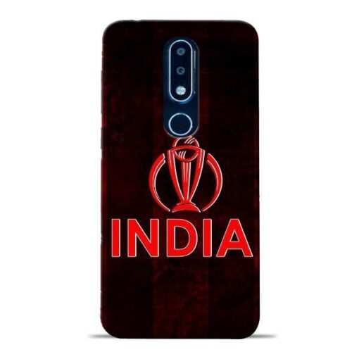 India Worldcup Nokia 6.1 Plus Mobile Cover