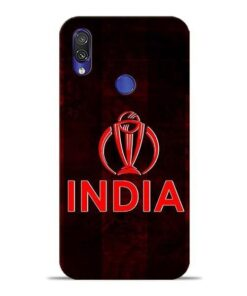 India Worldcup Xiaomi Redmi Note 7 Mobile Cover