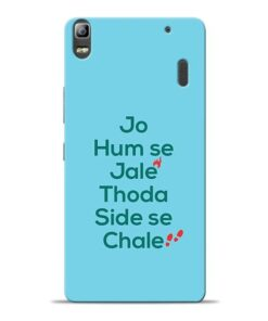 Jo Humse Jale Lenovo K3 Note Mobile Cover