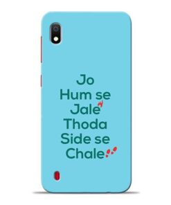 Jo Humse Jale Samsung A10 Mobile Cover