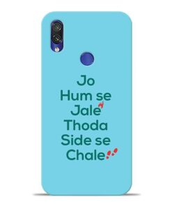 Jo Humse Jale Xiaomi Redmi Note 7 Mobile Cover