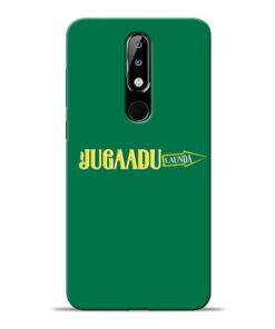 Jugadu Launda Nokia 5.1 Plus Mobile Cover