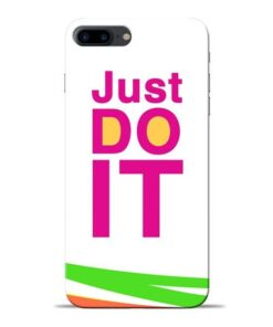 Just Do It Apple iPhone 7 Plus Mobile Cover