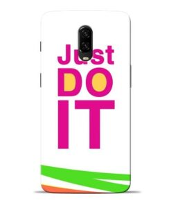 Just Do It Oneplus 6T Mobile Cover