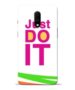 Just Do It Oneplus 7 Mobile Cover