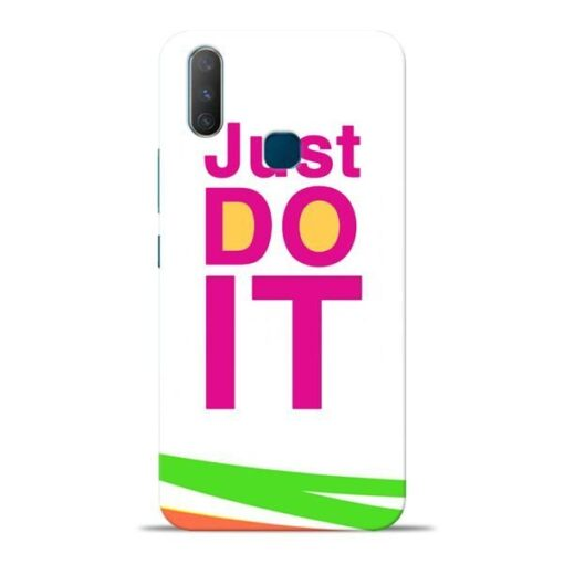 Just Do It Vivo Y17 Mobile Cover