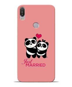 Just Married Asus Zenfone Max Pro M1 Mobile Cover