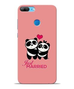 Just Married Honor 9 Lite Mobile Cover