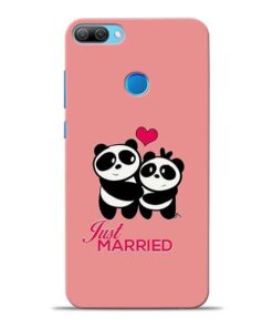 Just Married Honor 9N Mobile Cover