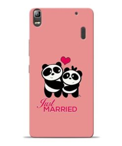 Just Married Lenovo K3 Note Mobile Cover
