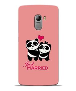 Just Married Lenovo K4 Note Mobile Cover