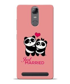 Just Married Lenovo K5 Note Mobile Cover