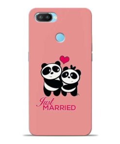 Just Married Oppo Realme 2 Pro Mobile Cover