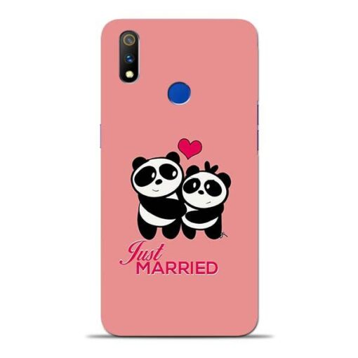 Just Married Oppo Realme 3 Pro Mobile Cover