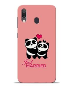 Just Married Samsung A30 Mobile Cover