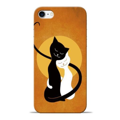 Kitty Cat Apple iPhone 8 Mobile Cover